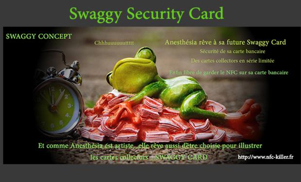 Visuel du projet SWAGGY CARD, Protection de Carte Bancaire