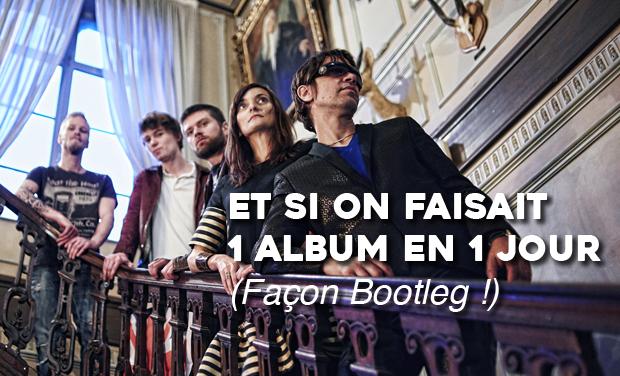 Visuel du projet Enregistrer 1 Album en 1 jour pour La Française : Cap ou pas cap ?