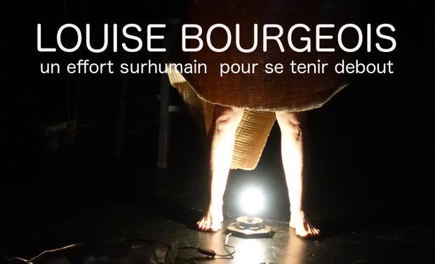 Visuel du projet Louise Bourgeois, un effort surhumain pour se tenir debout
