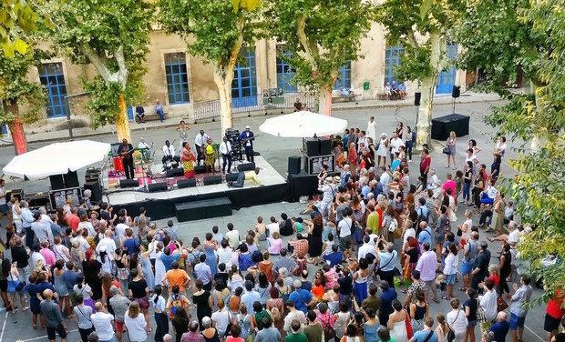 Visuel du projet LA! C'EST DE LA MUSIQUE - Festival de Musiques Innovantes à Avignon