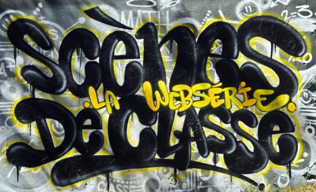 """Visuel du projet Websérie """"Scènes de classe"""" à Avressieux"""