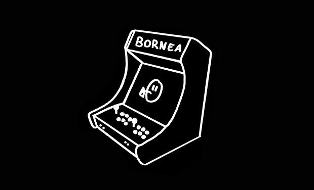 Visuel du projet Bornea, bornes de jeux rétro