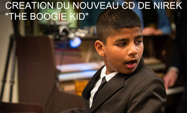 "Project visual CREATION DU NOUVEAU CD DE NIREK ""THE BOOGIE KID"""
