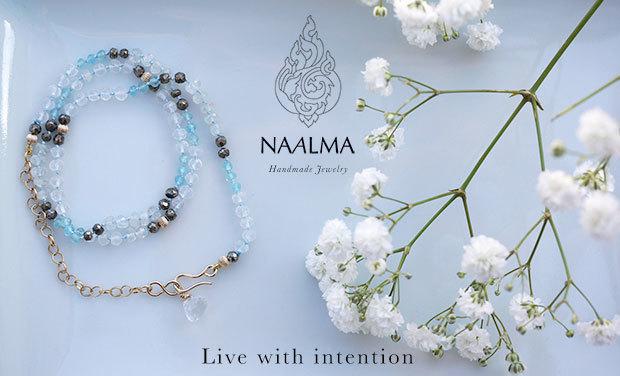 Visuel du projet NAALMA - Bijoux Haute fantaisie - Handmade in France