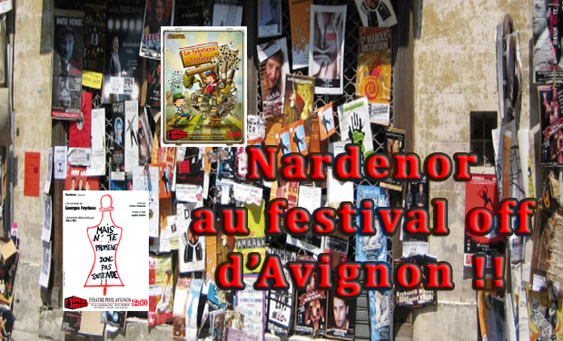 Visuel du projet Nardenor au festival off d'Avignon!