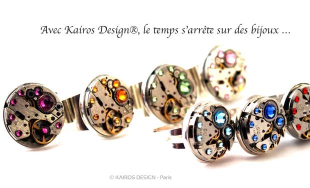 Visuel du projet Avec Kairos Design, le temps s'arrête sur des bijoux originaux et raffinés !