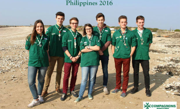 Project visual Projet Philippines 2016 - Compagnons Nanterre