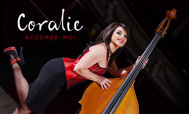 "Visueel van project Coralie - 1er Album - ""Accorde-moi"""