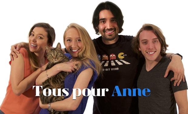 Visuel du projet Tous pour Anne