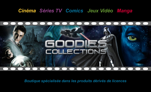 "Visueel van project Soutenir Goodies Collections ""Un Univers de Cadeaux"""