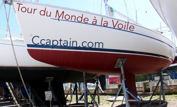 Project visual Tour du Monde à la Voile Ccaptain