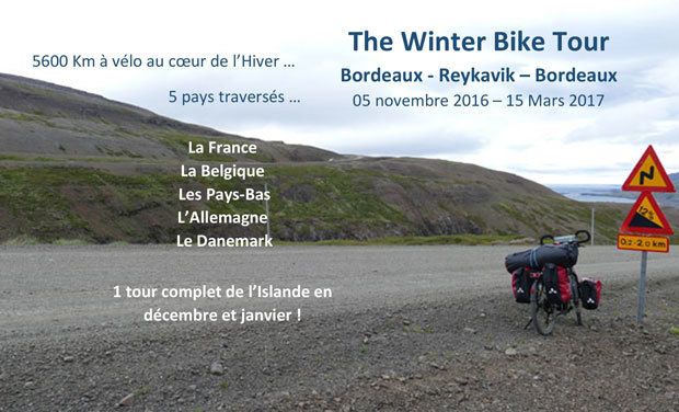 Visuel du projet The Winter Bike Tour
