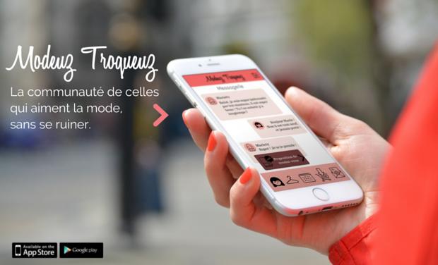 Project visual Modeuz Troqueuz : l'appli bientôt entre vos mains !
