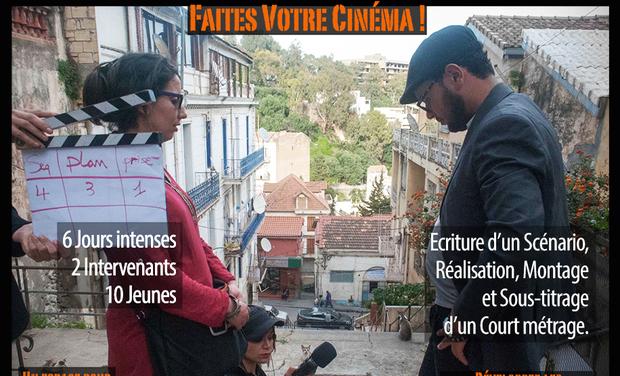 Visuel du projet Faites Votre Cinéma!