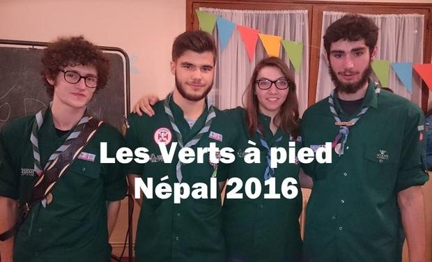 Visueel van project Les Verts à pied - Népal 2016