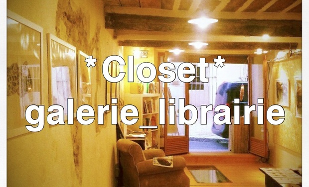 Project visual le *Closet* galerie-librairie