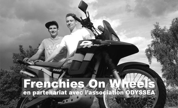 Visueel van project FrenchiesOnWheels - Un tour du Monde à Moto -