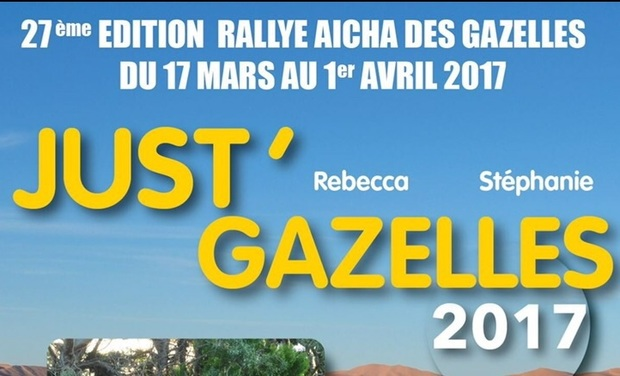 Project visual Rallye des gazelles 2017 - Team Just Gazelles