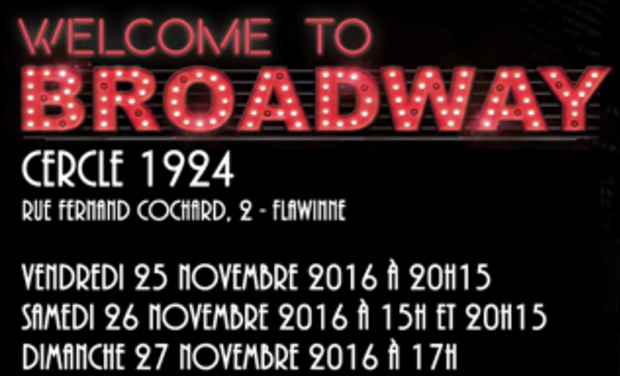 Visuel du projet Welcome to Broadway, le Musical