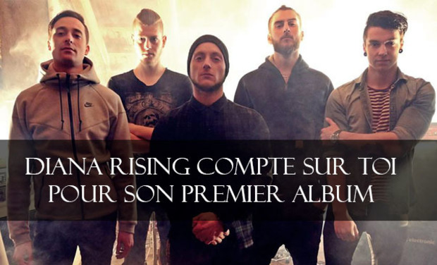 Project visual 1er Album du groupe de Metalcore DIANA RISING
