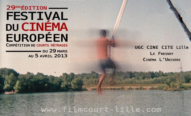 Visueel van project Festival du Cinéma européen - 29ème édition