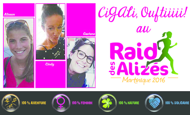Project visual CiGAli, Ouftiiii! au Raid des Alizés
