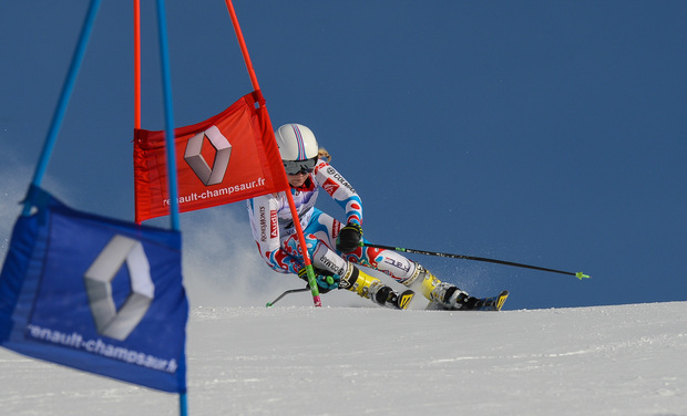 Project visual Le ski Alpin ma passion, la coupe d'Europe mon objectif
