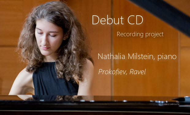 Project visual Nathalia Milstein - Piano solo debut CD
