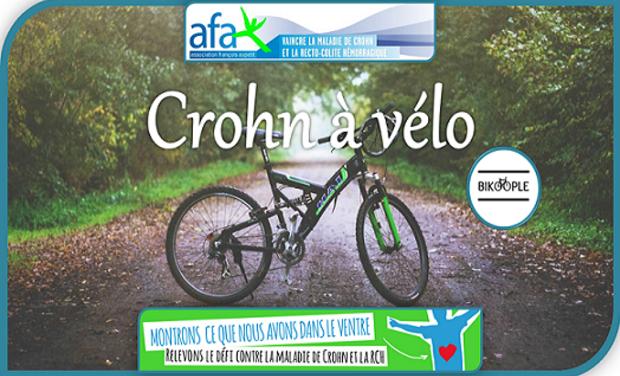 Visueel van project Crohn à vélo