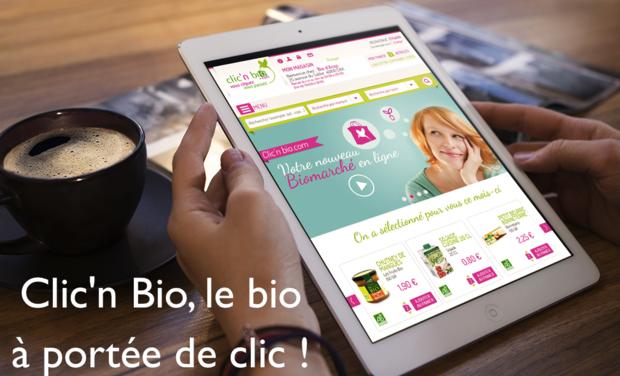 Visuel du projet Clic'n Bio, le bio à portée de clic