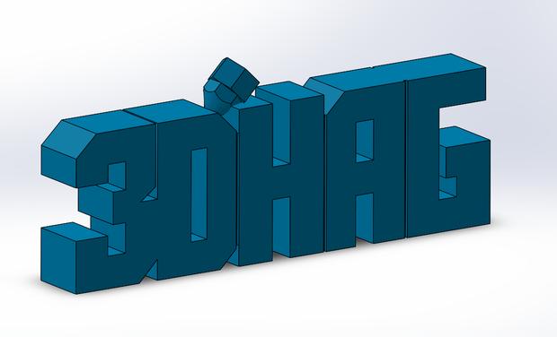 Visuel du projet 3D'HAG