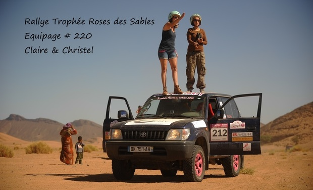 Project visual Rallye humanitaire Roses des Sables