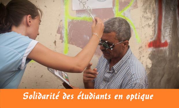 Visuel du projet Solidarité des Etudiants en Optique de l'ISO LYON