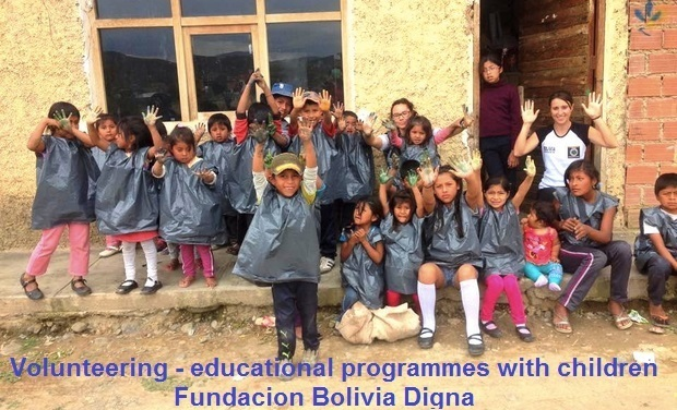 Project visual Helping children with Fundacion Bolivia Digna