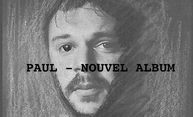 Visueel van project Paul - Nouvel Album