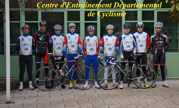 Project visual Centre d'Entraînement Départemental de Cyclisme