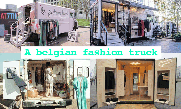 Project visual a belgian fashion truck