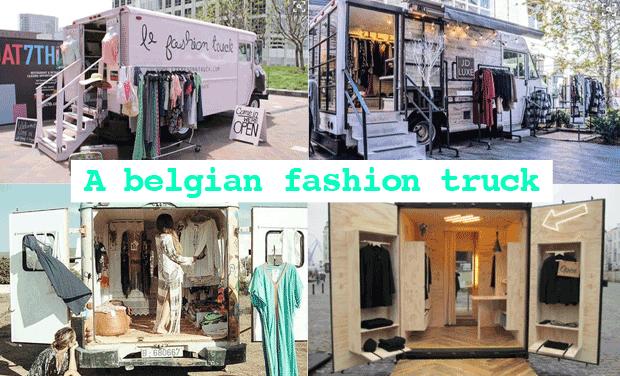 Visuel du projet a belgian fashion truck