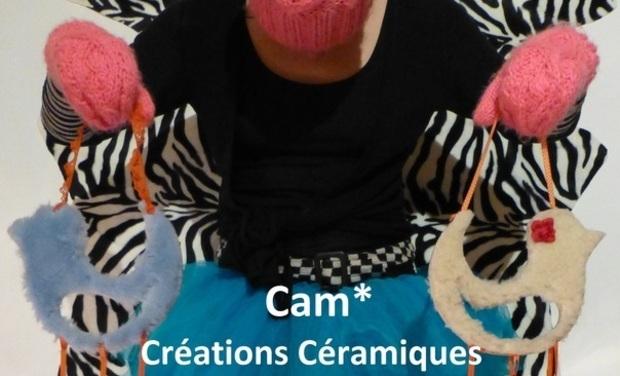 Visuel du projet Cam* Créations Céramiques