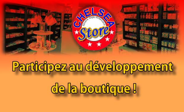 Project visual Aidez au développement Boutique Chelsea Store