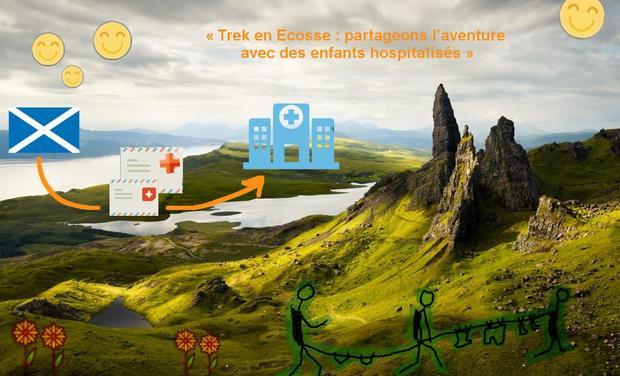 Visuel du projet Trek en Ecosse : partageons l'aventure avec des enfants hospitalisés !