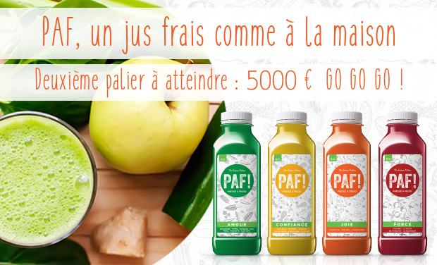 Project visual PAF le jus Pressé à Froid