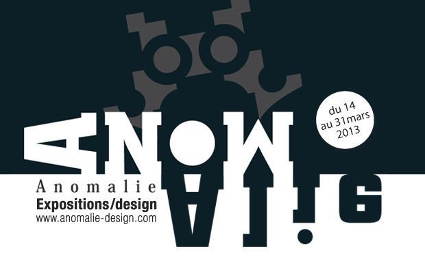 Visuel du projet Anomalie Expo-Design