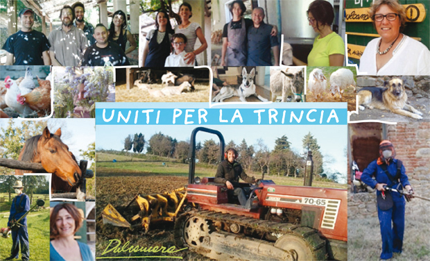 Visueel van project Uniti per la TRINCIA