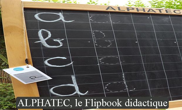 Project visual Quand on ne sait pas écrire, on flip!
