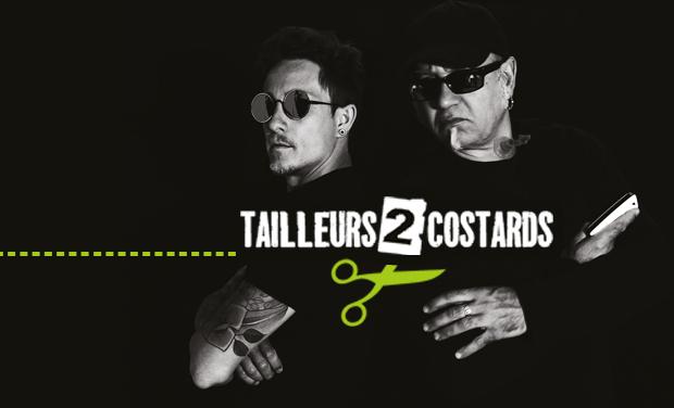 Visueel van project Tailleurs2costards -1er album Tissu de mensonges
