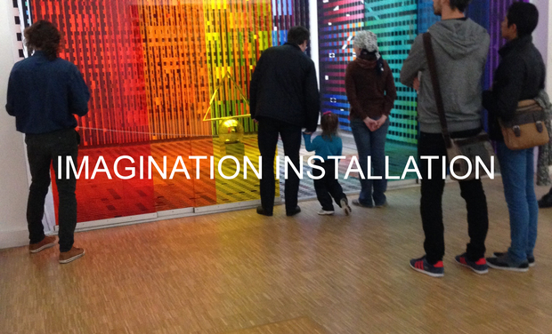 Project visual Imagination-Installation