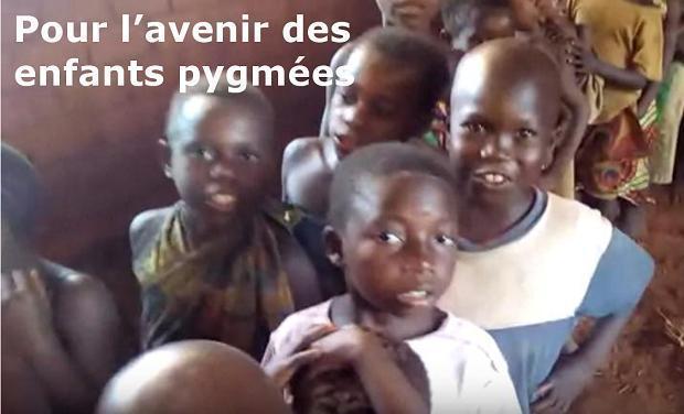 Project visual Une école pour les enfants pygmées en Centrafrique