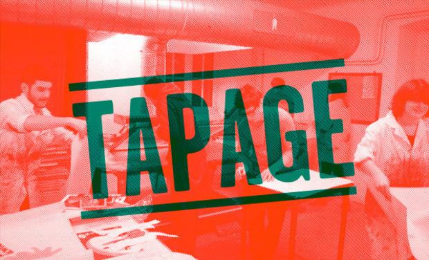 Visuel du projet Tapage, le journal graphique