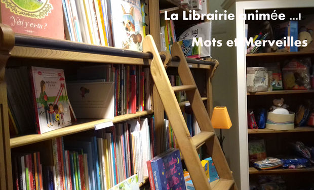 Visuel du projet La librairie Animée !...Mots et Merveilles
